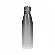 Waterfles Aluminium, 500ml, zilver