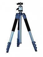 Statief met balhoofd TSK234 blauw