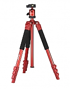 Statief met balhoofd TSK234 rood