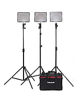 Aputure Amaran 528-KIT CSS 3 Lights + Lightstands
