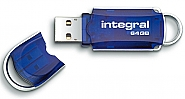 Integral 64GB Courier USB2.0 Flash Drive