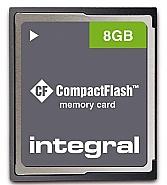 Integral 8GB CompactFlash