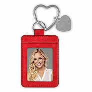 PHOTO KEYCHAIN HEART RING 001 RED (6)