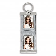 Keychain Double silver