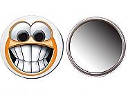 Mirror badge 56mm (100pcs)