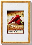 Peppers wooden frame 40x60 oak