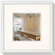 Peppers wooden frame 15x15 silver