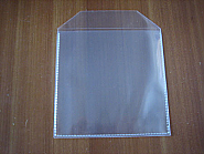 CD Plastic mapje met flap 1000 stuks