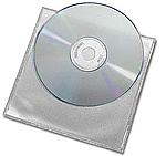 CD Plastic mapje zonder flap 1000 stuks
