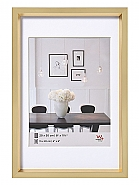 Plastic frame steel style 60x80 gold