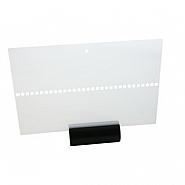 Leader 246 X 167 mm Transparent (25)