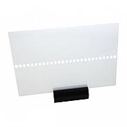 Leader 258x175mm Transparent