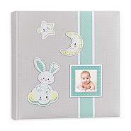 Babyalbum Fred  blue 32x32cm 30pag