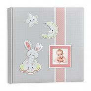 Babyalbum Fred Pink 32x32cm 30pag