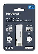 Integral 16GB iShuttle iphone-ipad USB3.0 Flash Drive