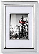 Frame Metro 10x15 Silver