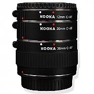 Kooka Macro tussenringset voor Canon