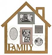 Madeira Family Home Multi Frame 3x 10x15cm and 2x 10x10cm (5)