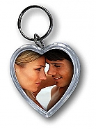 Photo Keychain Heart (24pcs)