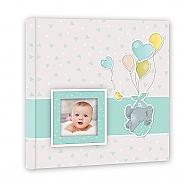 Baby album Pierre blue 32x32cm 30pag