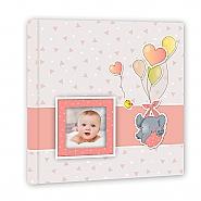 Baby album Pierre pink 32x32cm 30pag