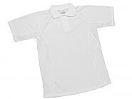 Polo shirt Cotton feel Medium white (10)