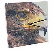 Canvas klok met mechanisme (1)