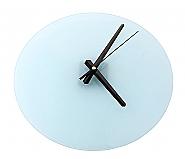 Glass Clock Rond 29cm (2)