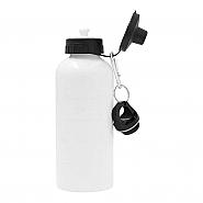Waterfles Aluminium, 600ml, wit (6)