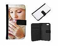 iPhone 4/4S  Flip Case, Black opens sidewards (5)