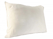 Bed Pillow-cover White satin 60 x 70cm (2)