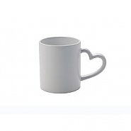 Heart Mug 11oz White (12)