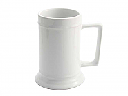 Beer Mug 18oz White (12)