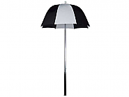Golf bag Umbrella Black-White diameter 58cm