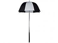 Golf bag Umbrella Black-White diameter 58cm