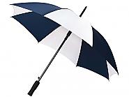 Paraplu wit-blauw (2)