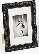 Barock portrait frame, 50x70, black