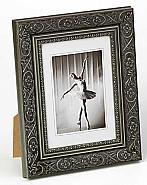 Barock portrait frame, 13x18, grey
