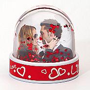 LOVE Glitter ball  6 pcs