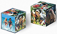 Acryilic glass photo cube 12pcs