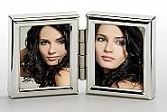 Chloe 2x 3,5x4,5 cm, silver