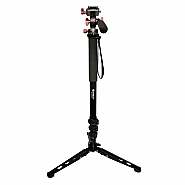 Monopod kit with video head & base stand