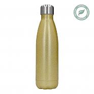 Thermosfles van RVS 500 ml 17oz Goud Glitter (5)