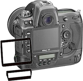 Bilora Luxury Screen Protector Nikon D3