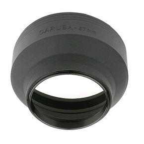Caruba Rubberen zonnekap 67mm