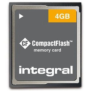 Integral 4GB Compact Flash