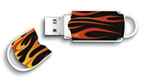 Integral 8GB Xpression USB Flash Drive Hot Rod
