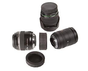 Lens mount Cap Double Canon