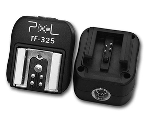 Pixel Hotshoe convertor for Sony to Canon & Nikon TF-325