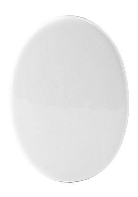 Tegel in keramiek 8 x 10cm  ovaal (8)